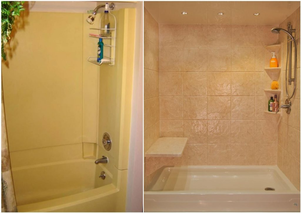 Yankee Home Improvement Before And After Bath