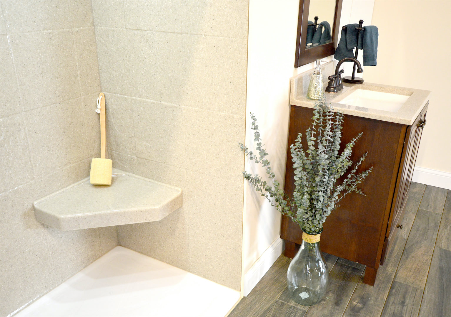 Gorgeous Bath replacement by Yankee Home