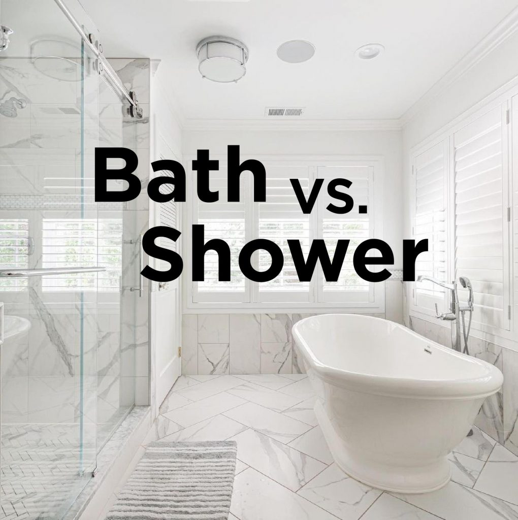 bath vs shower: which is right for you?