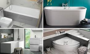 various bathoom and shower installation options & styles